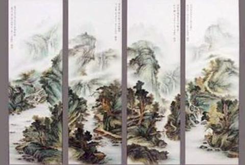 南昌瓷板画