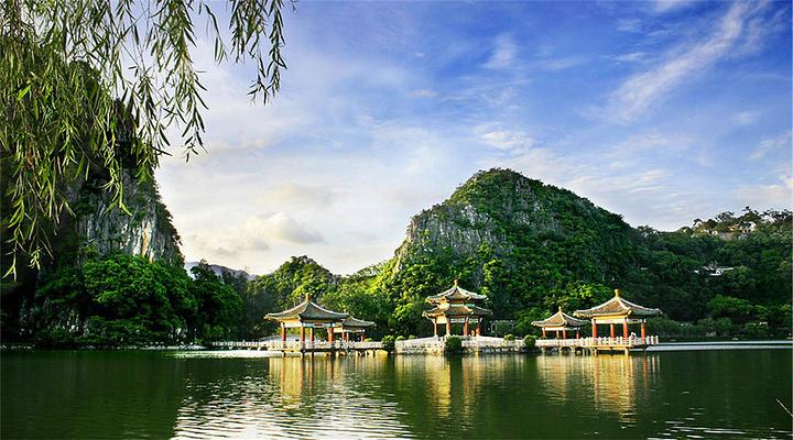星湖旅游图片