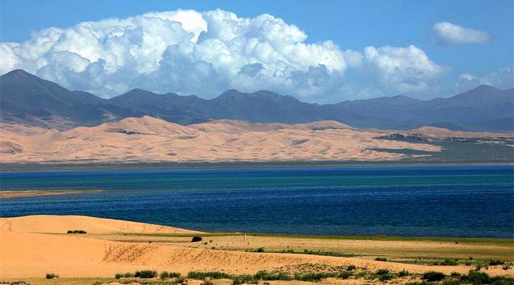 青海湖沙岛旅游图片