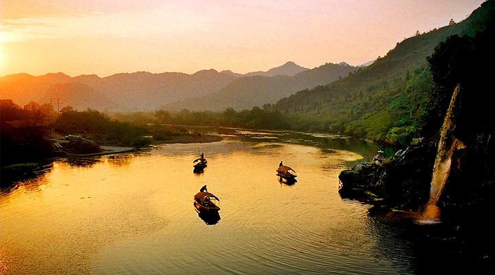 秋浦河旅游图片