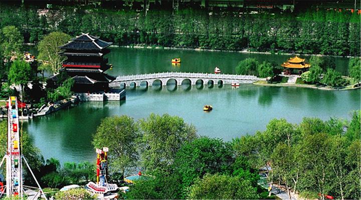 逍遥津公园旅游图片