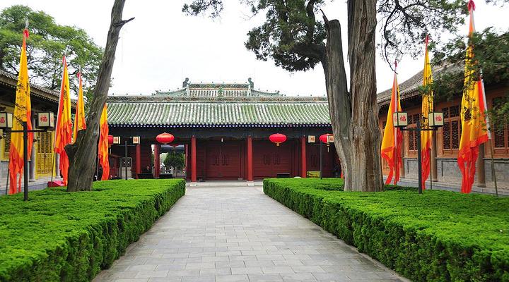 伏羲庙旅游图片