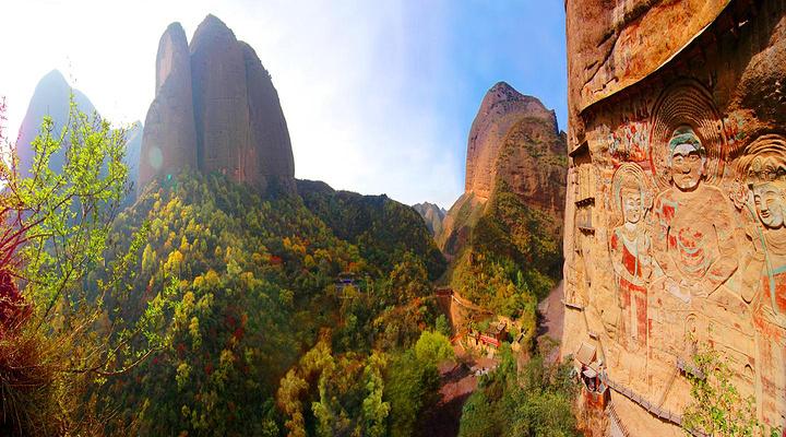 水帘洞石窟旅游图片