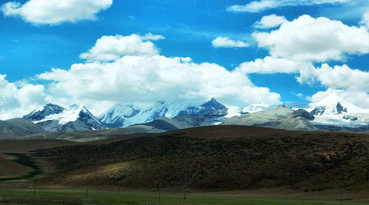 念青唐古拉山旅游图片