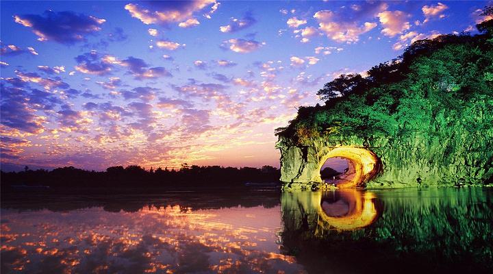 象鼻山旅游图片