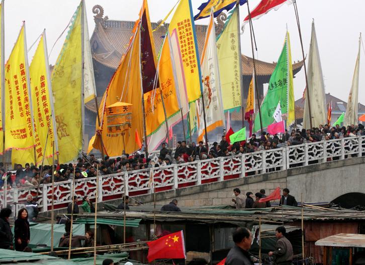 莲泗荡庙会
