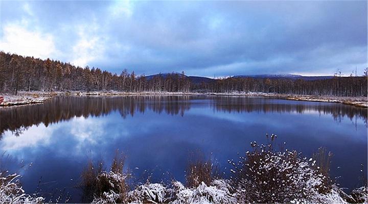 鹿鸣湖旅游图片