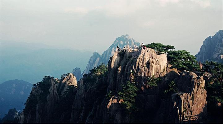静山奇峰光明顶旅游图片