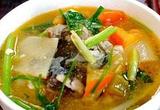 酸雷公笋汤