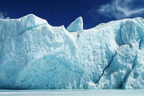 来古冰川的图片