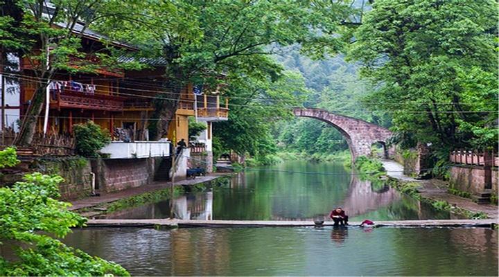 上里古镇旅游图片