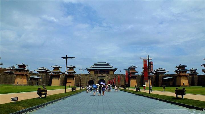 横店秦王宫拍摄基地旅游图片