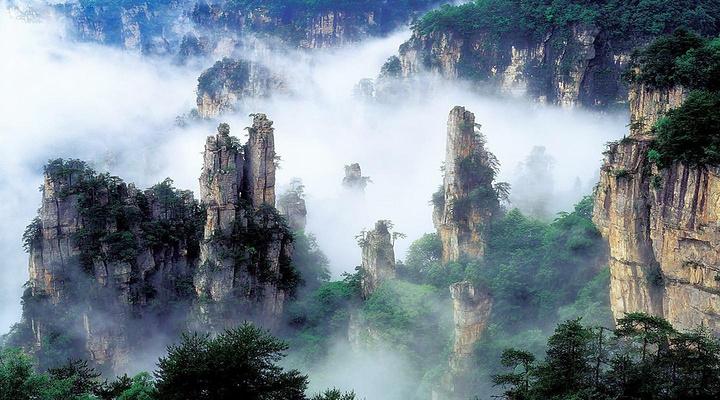 张家界国家森林公园旅游图片