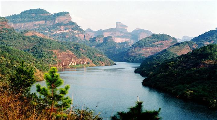 丹霞山旅游图片