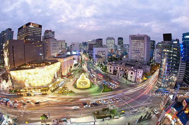 明洞大街旅游图片