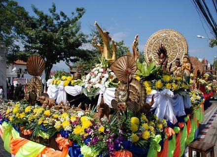 清迈花卉节 Chiang Mai Flower Festival