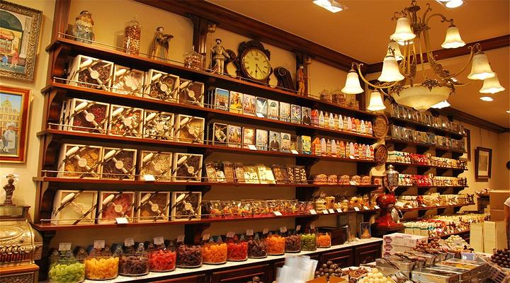 巧克力的浪漫与甜蜜旅游图片