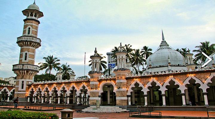 嘉美克清真寺旅游图片