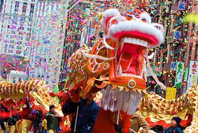 春节花车巡游节 Lunar New Year Parade & Festival