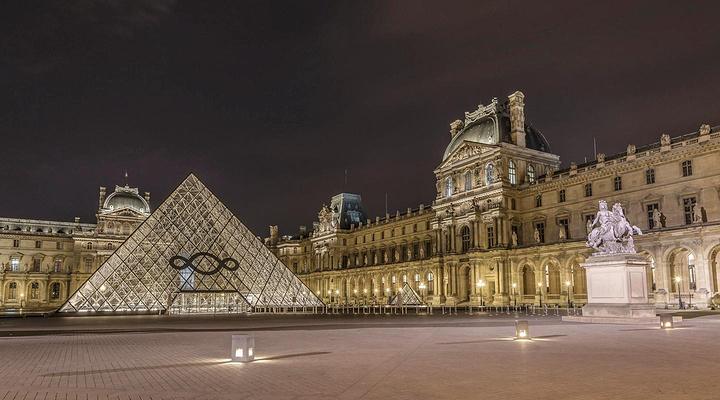卢浮宫旅游图片