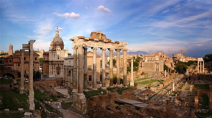 古罗马广场旅游图片