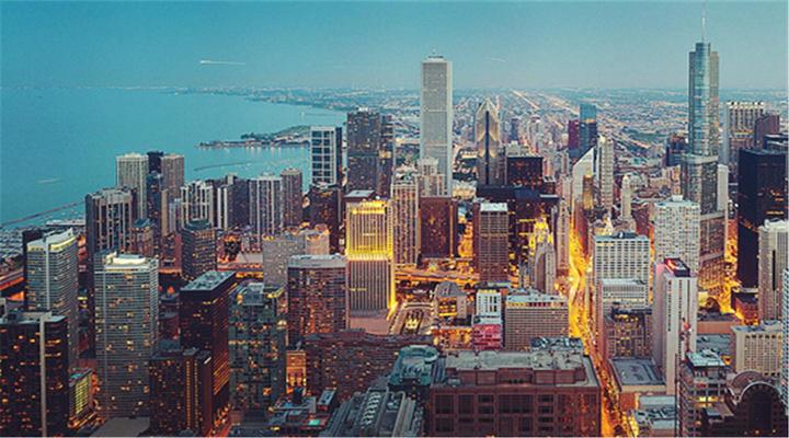 钢铁城市芝加哥旅游图片