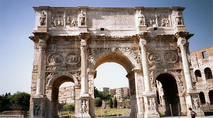 君士坦丁凯旋门 旅游图片