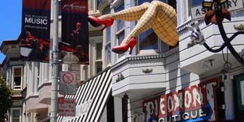 旧金山浪漫街区三日游