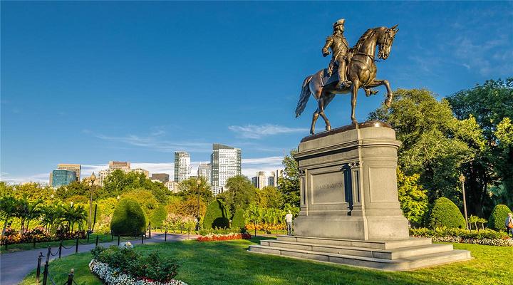 波士顿公共花园旅游图片