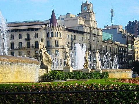 加泰罗尼亚广场旅游景点图片