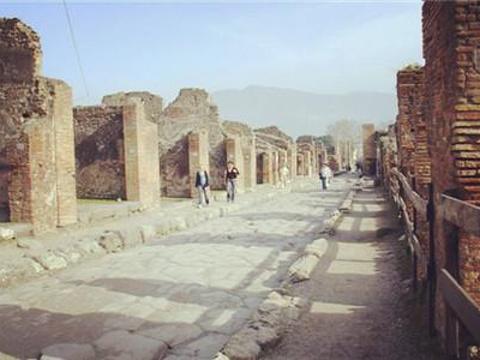 庞贝古城遗址旅游景点图片