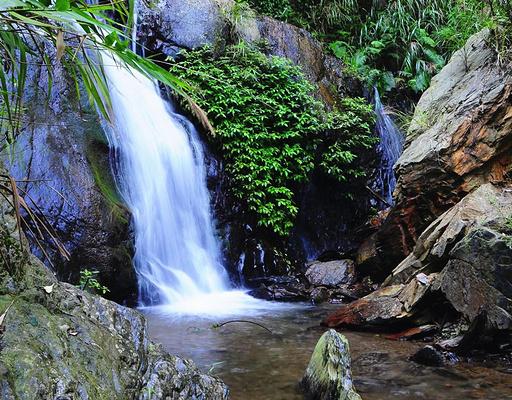观音瀑布旅游图片