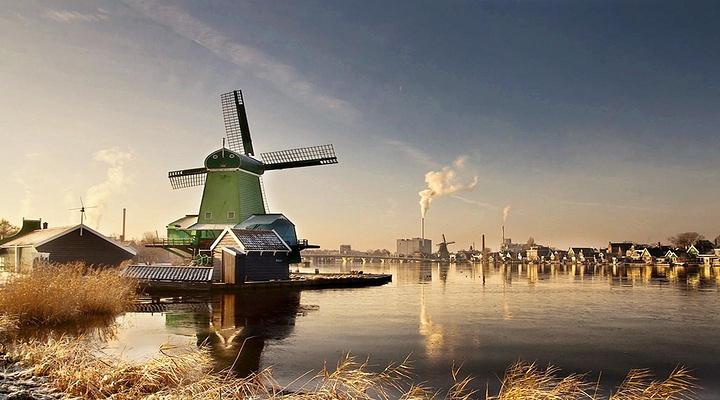 赞瑟斯汉斯风车村旅游图片