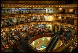 雅典豪华大书店