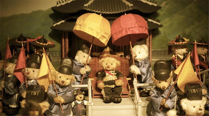泰迪熊世界旅游图片