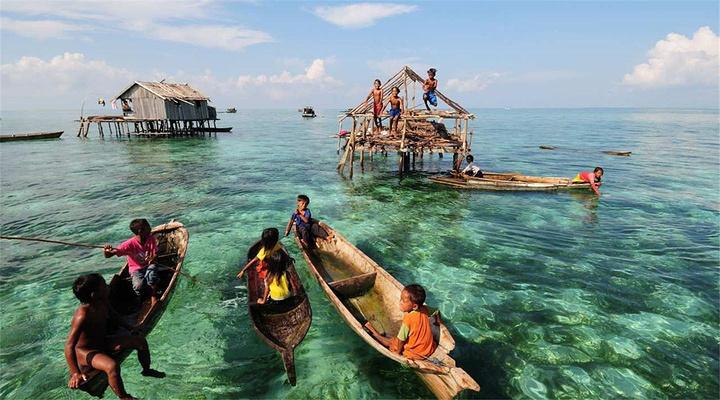 巴瑶族旅游图片