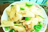 地瓜炒肉片