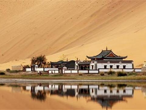 巴丹吉林庙旅游景点图片