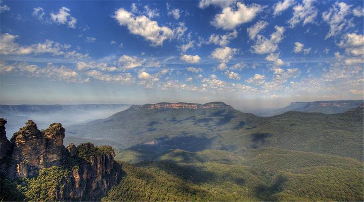 蓝山奇景旅游图片