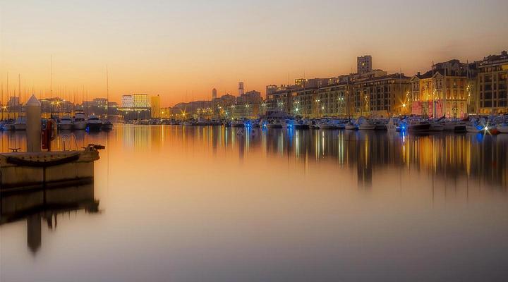 马赛旧港旅游图片