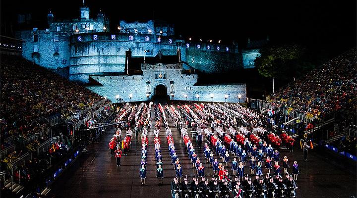 爱丁堡军乐节旅游图片