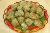 炸野菜丸子