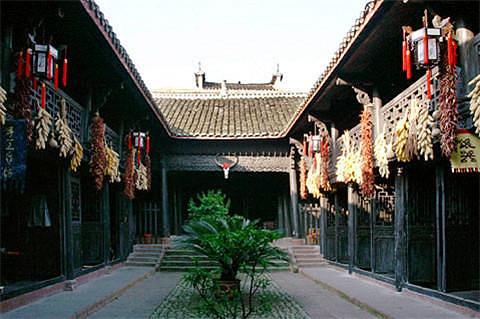 杨家祠堂的图片
