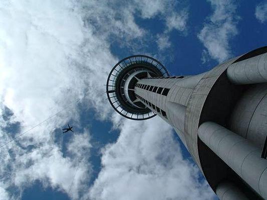 天空塔旅游图片