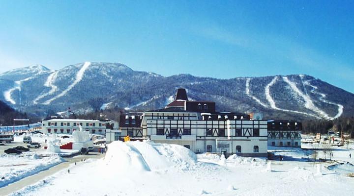 雪景旅游图片