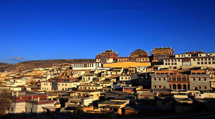 松赞林寺旅游图片
