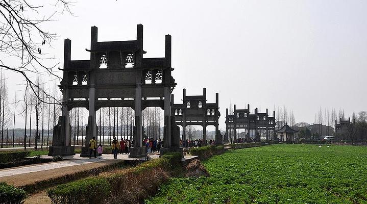 棠樾牌坊旅游图片