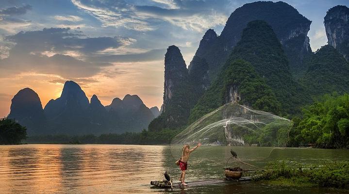 漓江山水旅游图片