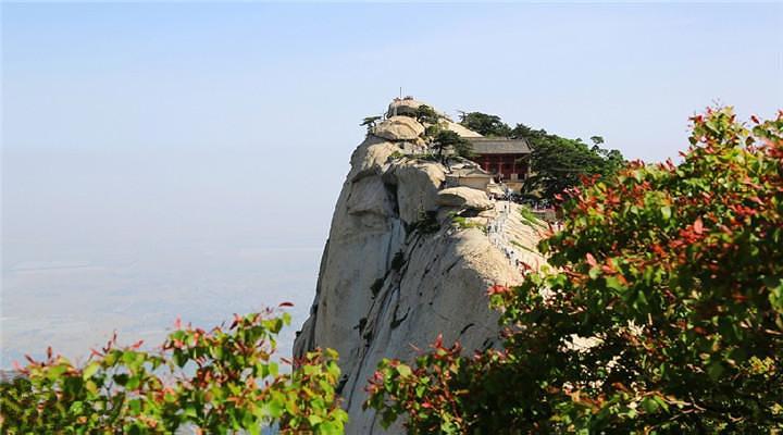 华山西峰旅游图片