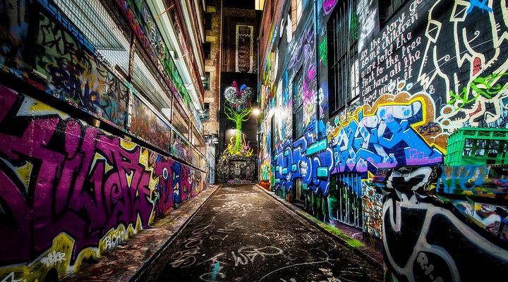 Hosier Lane旅游图片